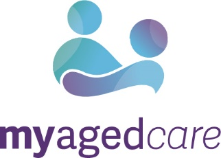 My Aged Care logo.