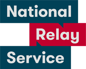 National Relay Service logo.